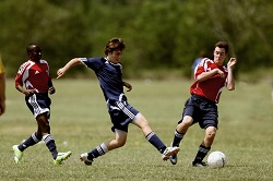Group of young soccer players. Soccer Injuries: Don't Play Through the Pain
