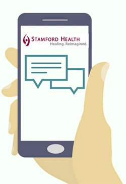 Stamford Health Medical Group text message reminders