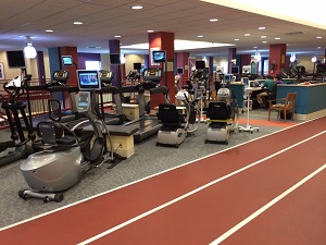 Cardiac Rehab Facility Treadmills: Stamford Health