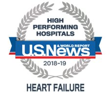 U.S. News and World Report - High Performing Hospitals seal