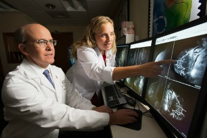 Drs. Gruen & Pass, Dir. Women's Imaging; Dir. Breast Surgery