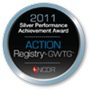 Silver Performance Achievement Award from the American College of Cardiology National Cardiovascular Disease Registry