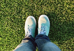 Feet on Grass. Diabetes and Exercise, Robert Weiss, Podiatry Blog, Stamford Health