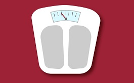 Drawing of scale- When is Weight Loss a Sign of Cancer? Stamford Health Blog